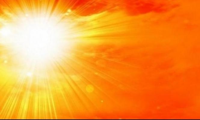 حالة الطقس: أجواء صيفية حارة نسبيا