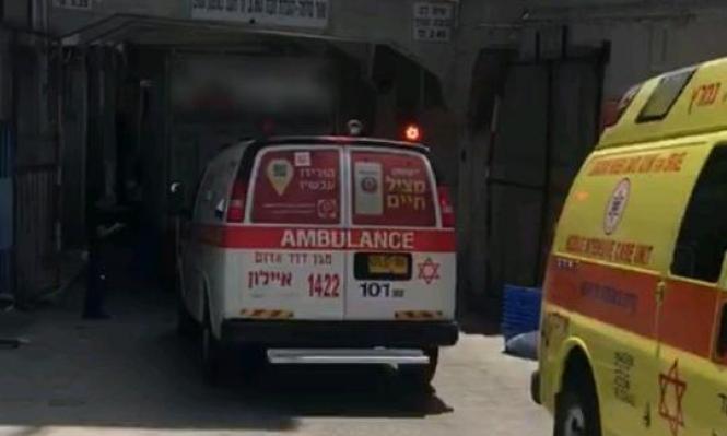 مصرع شخص سقط من علو قرب يافا