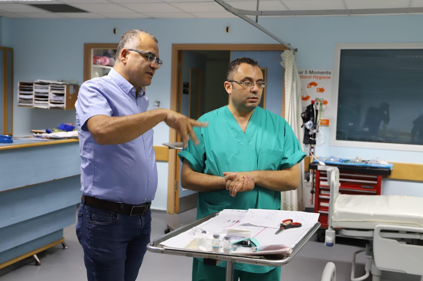 يوميات طبيب في غزة