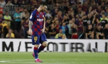 برشلونة متفائل بمشاركة ميسي أمام إنتر ميلان