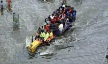 جانبٌ من فيضانات الهند