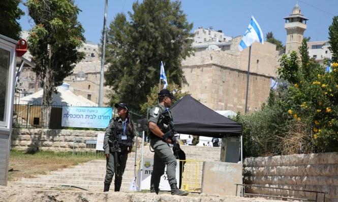 بالأعياد اليهودية: إغلاق الحرم الإبراهيمي أمام الفلسطينيين وتخصيصه للمستوطنين