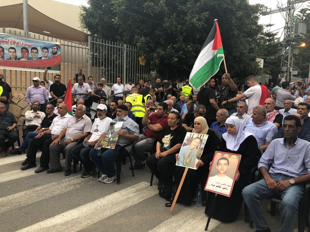 حين اختار أحمد صيام العودة إلى أم الفحم.. مشاهد من هبة القدس والأقصى