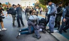 القدس: اعتقالات في اعتداء الاحتلال على متظاهرين إسنادا للعربيد