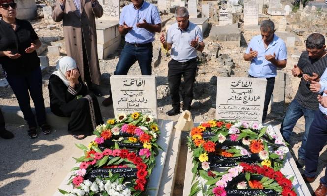 ذكرى هبة القدس والأقصى: زيارة عائلات وأضرحة الشهداء في سخنين وعرابة