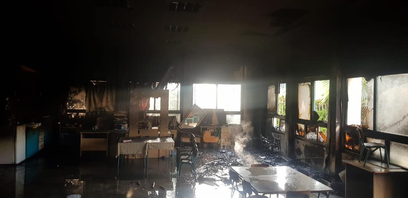 بسمة طبعون: حريق في روضة أطفال