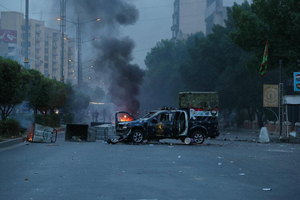 تجدد المظاهرات في العراق والسلطات تواجهها بالقمع