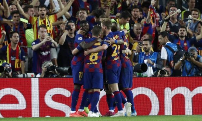 سواريز يقود برشلونة لتخطي عقبة إنتر ميلان