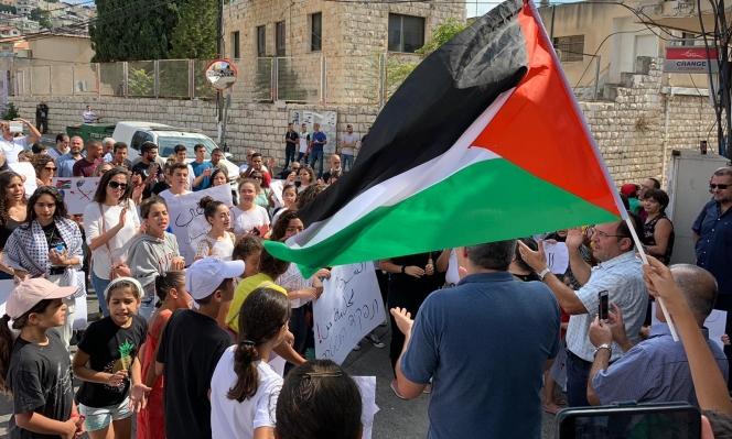 الناصرة: تظاهرتان غاضبتان ضد العنف والجريمة وتواطؤ الشرطة