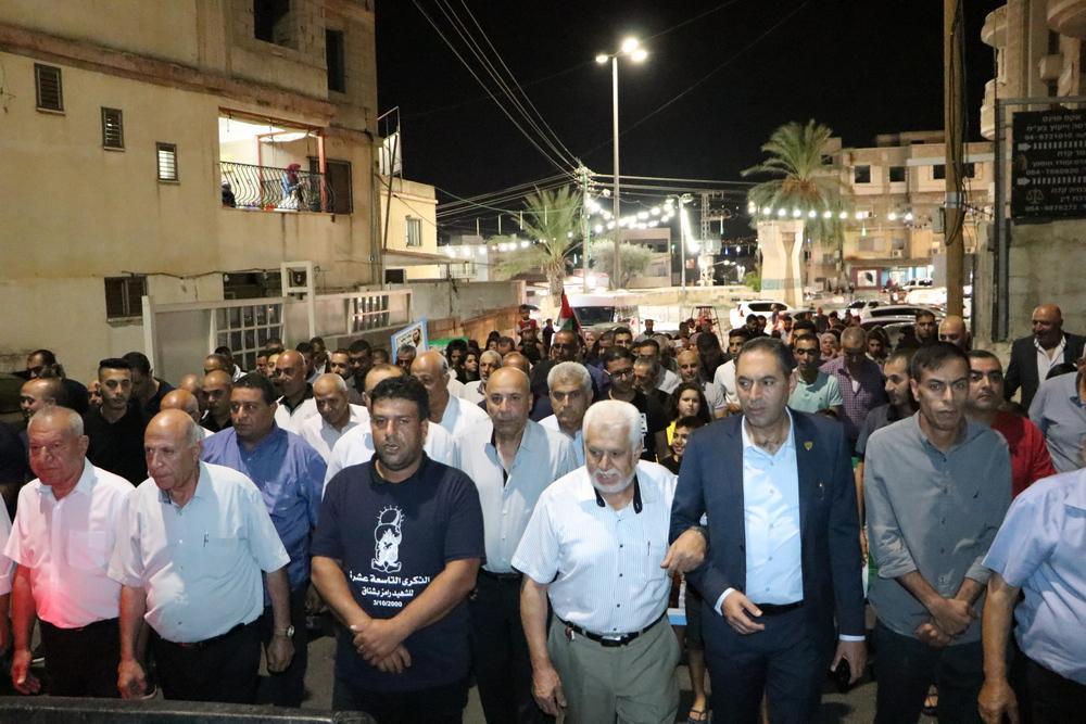 كفر مندا: إحياء ذكرى استشهاد رامز بشناق