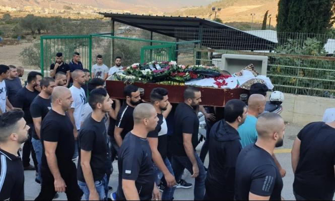 مجد الكروم تشيع جثمان ضحية القتل محمد سبع