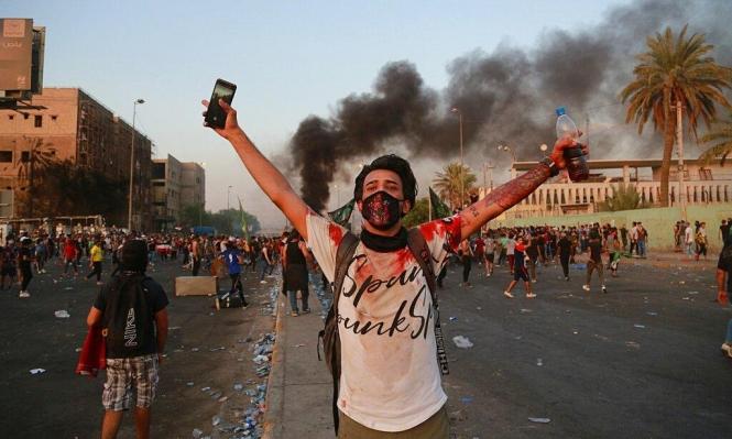 العراق: ارتفاع حصيلة قتلى الاحتجاجات إلى 35