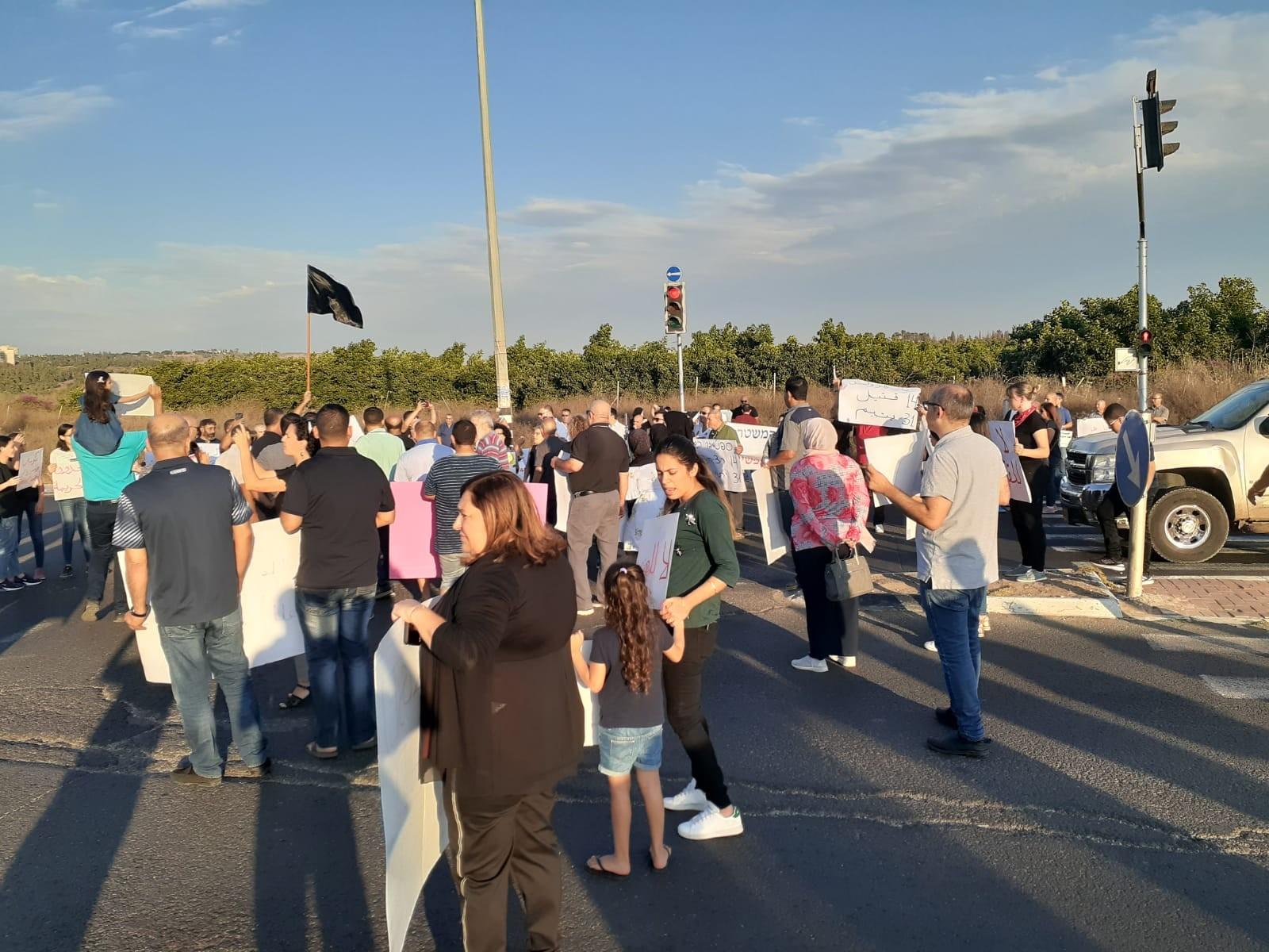 من تظاهرات الطيرة (عرب ٤٨)