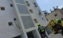 مصرع عامل سقط عن ارتفاع في حيفا