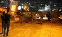 اعتقالات بالضفة و20 مصابا واحتراق منزل بمواجهات في قلقيلية