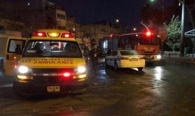 الرملة: إصابات في حريق بشقة سكنية