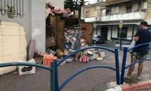 الناصرة: النفايات تتكدس في حي الروم