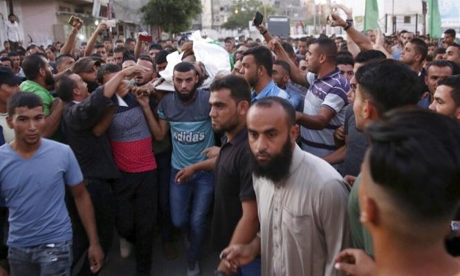 غزة: استشهاد شاب متأثرا بجروح أصيب بها بمسيرة العودة