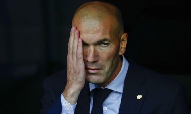 زيدان غاضب على إدارة ريال مدريد!
