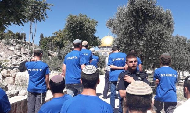 مستوطنون يقتحمون الأقصى والاحتلال يعصد انتهاكاته ضد المقدسيين