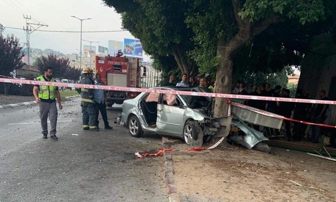 الناصرة: أكبر عدد من الإصابات الخطيرة بحوادث الطرق