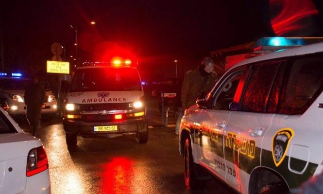 وادي عارة: إصابة بجريمة إطلاق نار وإضرام النار بسيارتين