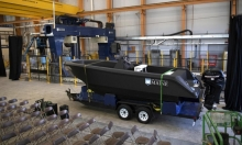 إنشاء أكبر قارب بتقنية الطابعة ثلاثية الأبعاد