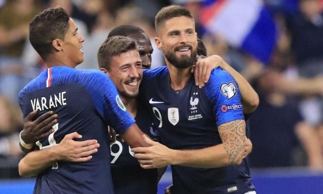 تصفيات يورو 2020: هجوم فرنسي متعثر وإنجلترا ضد العنصرية