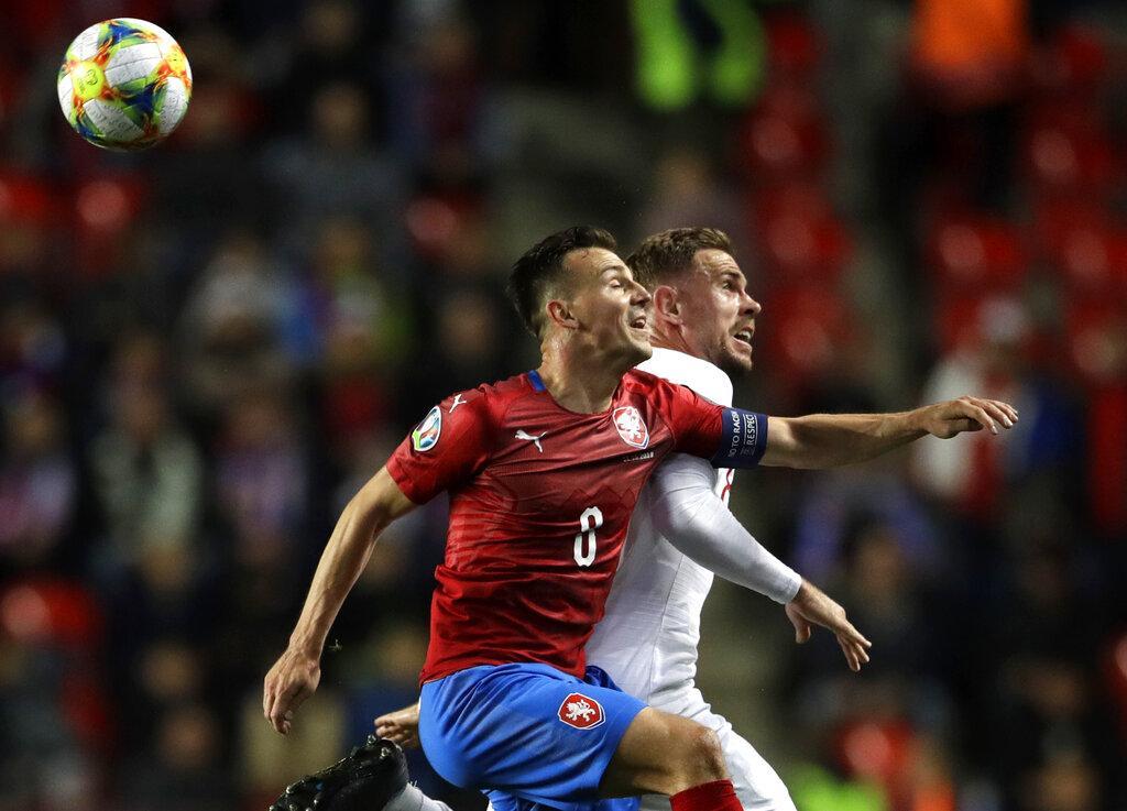 تصفيات يورو 2020: إنجلترا تخسر أمام التشيك