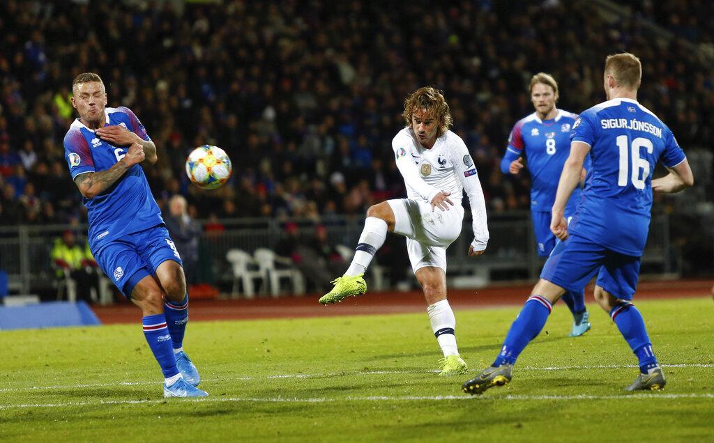 تصفيات يورو 2020: فرنسا تتخطى أيسلندا بهدف يتيم