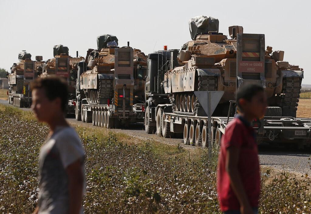تعزيزات عسكريّة تركية (أ ب)