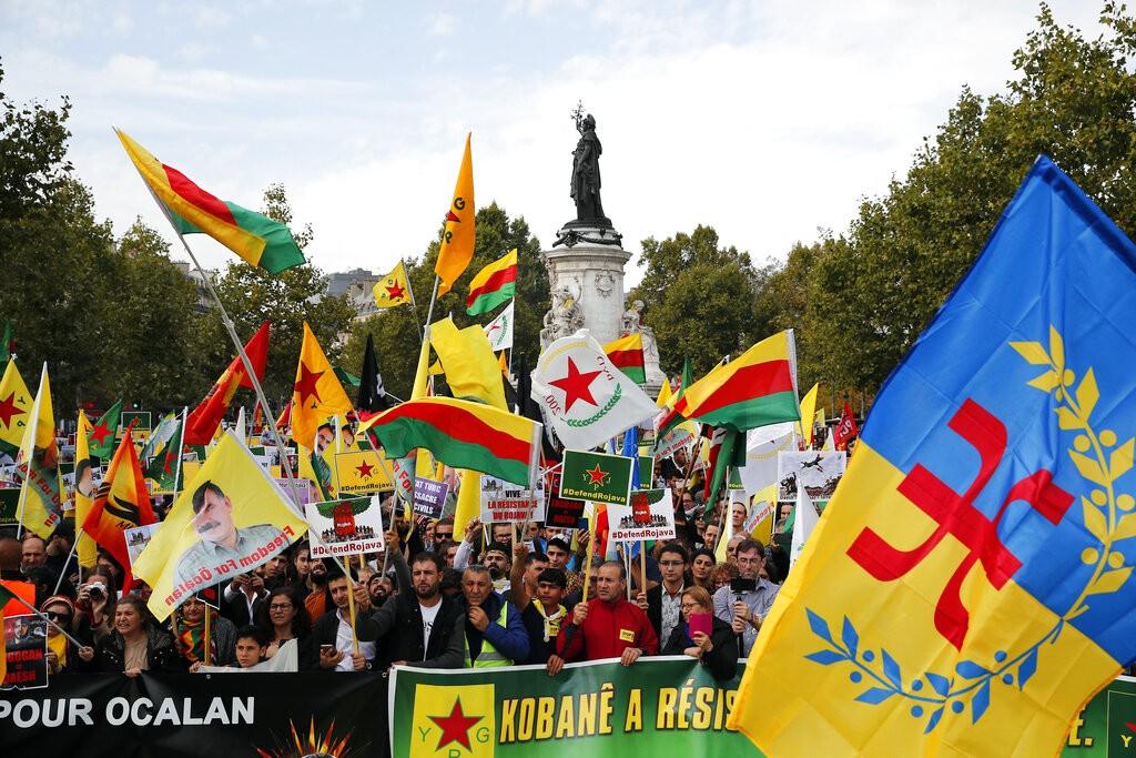 تظاهرة في باريس (أ ب)