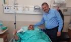 الشيخ علي الدنف يروي تفاصيل إصابته بجريمة إطلاق النار