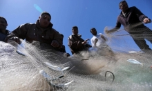 صيّادو غزّة يخرجون شباك الصّيد من البحر
