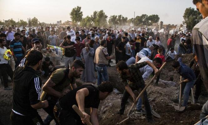 130 ألف نازح جراء العملية العسكرية التركية شمالي سورية