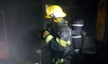 حريقان في المكر ويركا