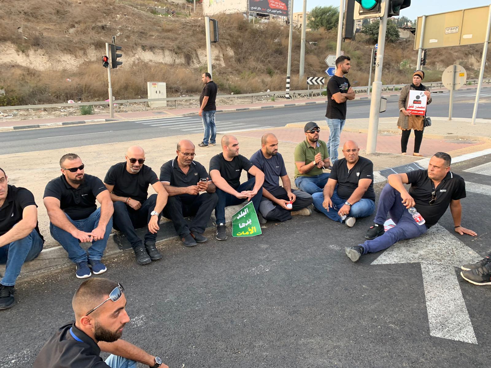 أم الفحم: إغلاق شارع 65 والشرطة تستفز وتعتقل