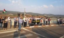 وقفة أمام سجن مجيدو دعما للأسيرة اللبدي