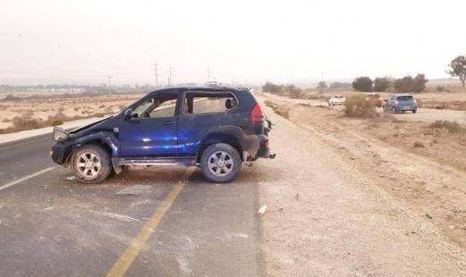 النقب: مصرع شخص جراء حادث طرق ذاتي