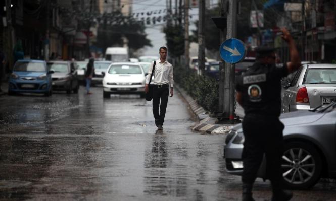 مطر على غزة