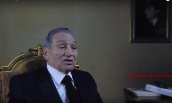 أول حديث مصور لمبارك منذ عزله