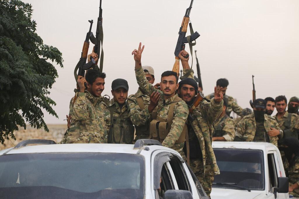 مقاتلون أكراد (أ ب)