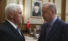 بنس: اتفقنا مع أنقرة على وقف لإطلاق النار في سورية