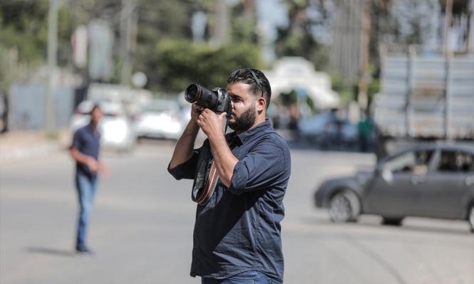 درويش: مصور أطفأ الاحتلال عينه لإسكات كاميرته