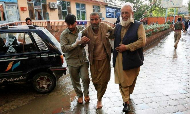 62 قتيلا في انفجار بمسجد شرقيّ أفغانستان