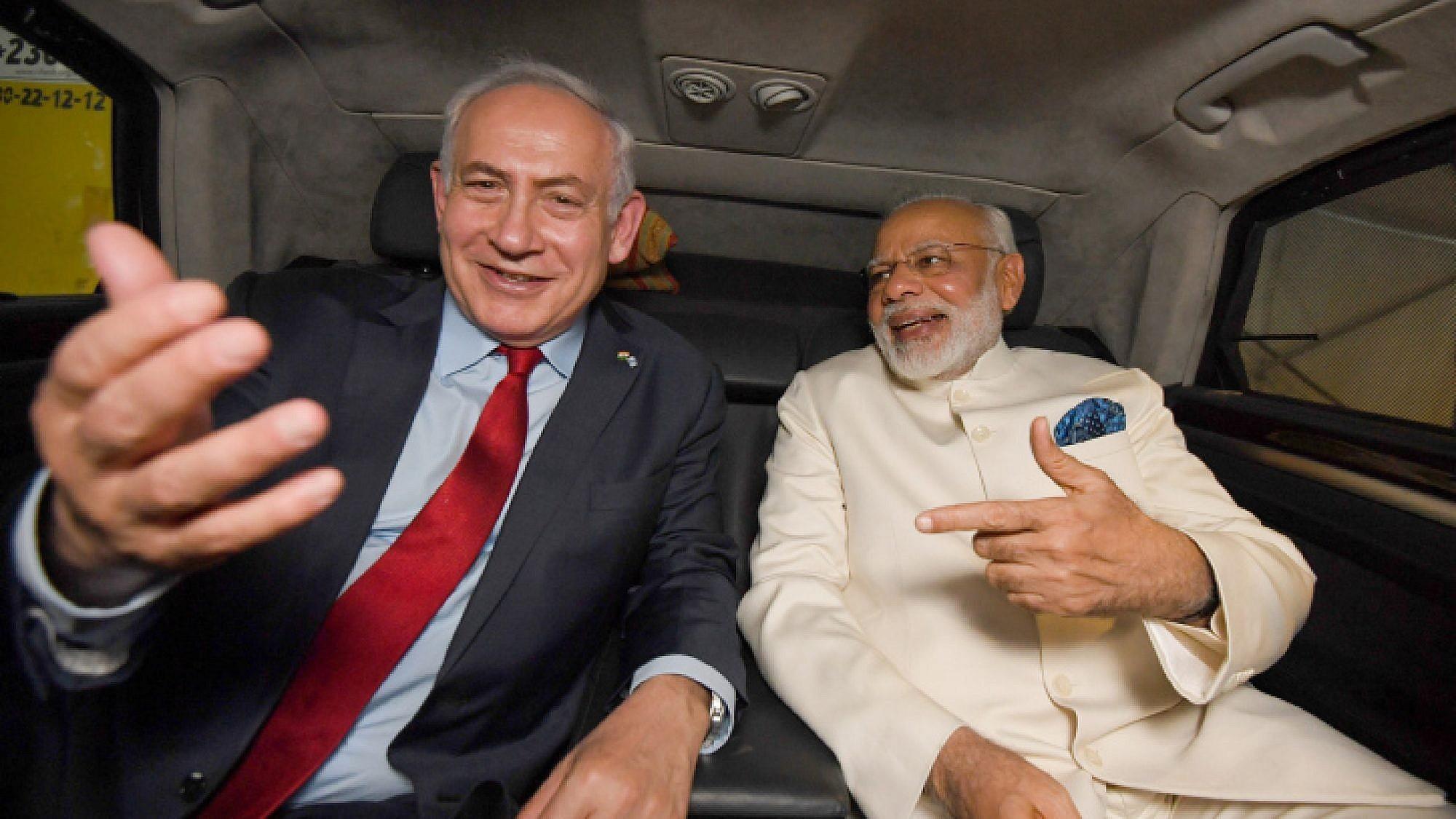 نتنياهو ومودي... متطرفان وطّدا علاقات الهند بإسرائيل (مكتب الصحافة الحكومي)