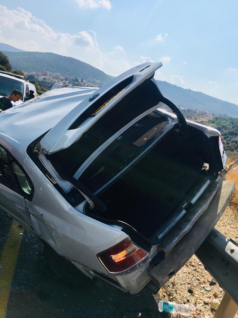 إصابة شاب في حادث طرق قرب وادي سلامة
