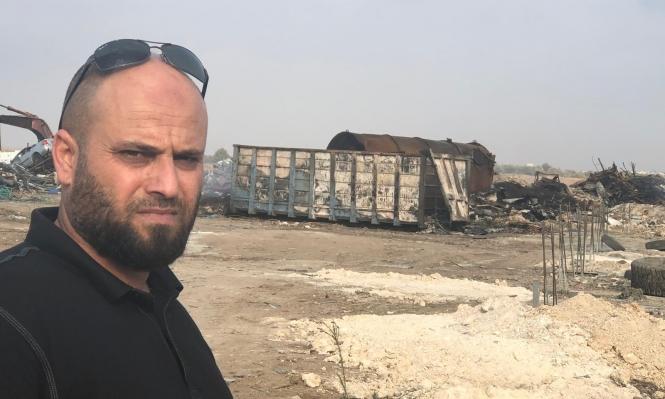 باقة الغربية: سكان حي الشقفان ضحايا محرقة النفايات