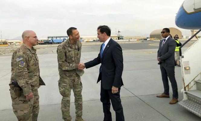 وزير الدفاع الأميركي يستبعد انسحابا من أفغانستان مثل سورية