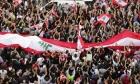 تواصل الاحتجاجات  في لبنان وإصرار على إسقاط النظام